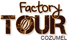 logo chocolate factory tour cozumel