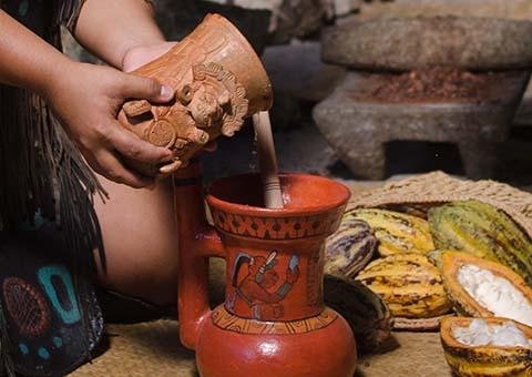 Mayan drink